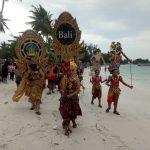 Tim Kesenian Dinas Kebudayaan Provinsi Bali Disambut Antusias Pengunjung Festival Kelayang 2 Belitung