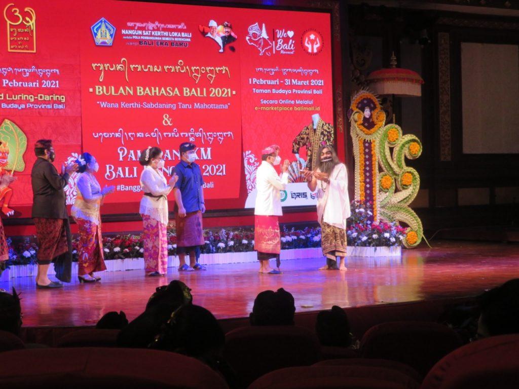 Resmi Buka Bulan Bahasa Bali 2021 Gubernur Koster Sebut ...