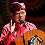 Gubernur Koster Resmi Tutup Bulan Bahasa Bali ke 3 Tahun 2021 : Bali Memiliki 3 Aksara Bali Mulai Dari Aksara Wréastra, Swalalita, dan Modre
